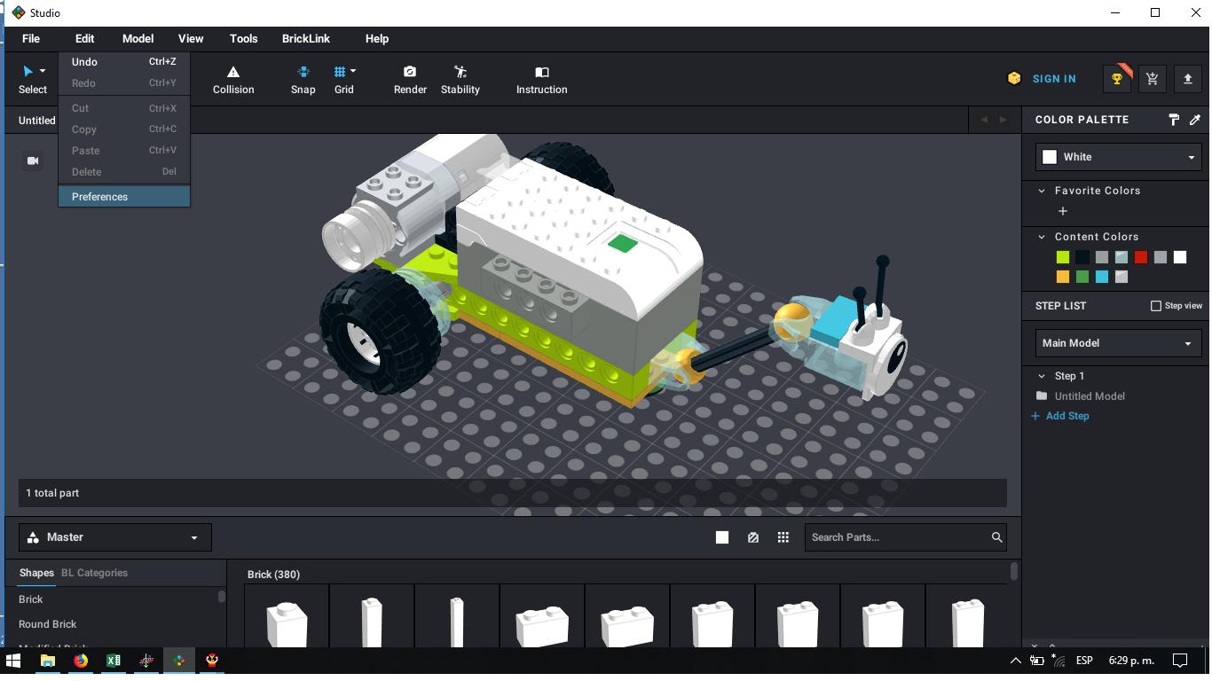 Videotutoriales para montajes de Lego Virtual con Studio 2.0